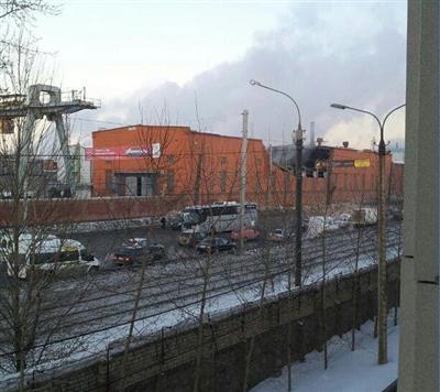 Meteoryt w Rosji - Zniszczona fabryka