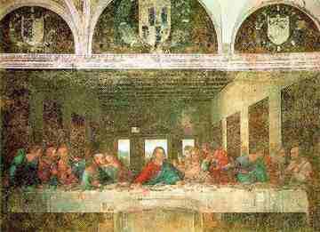 Ostatnia Wieczerza - Obraz Leonarda da Vinci
